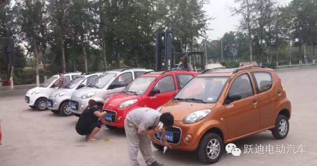 跃迪电动汽车t70发车沧州高清图片