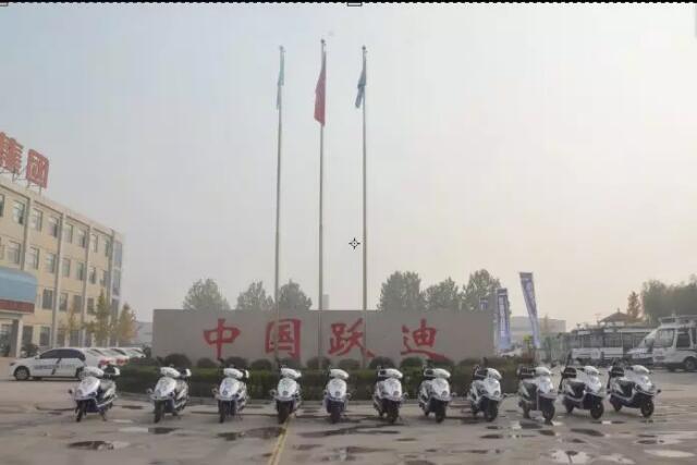 """金豪棋牌网站电动巡逻摩托车发往""""塞上江南""""宁夏"""