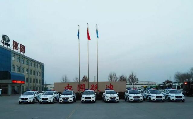 金豪棋牌网站电动巡逻车批量发车江西,助力地区经济发展