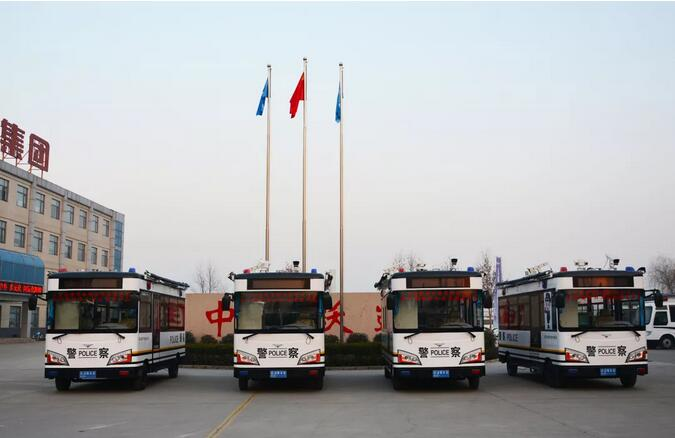 金豪棋牌网站为年末治安助力-移动警务室发往陕西现场