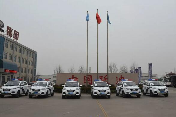 年后再发力|金豪棋牌网站电动警用巡逻车批量发往海南省