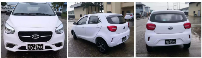 喜报!金豪棋牌网站360混动版新能源汽车缅甸正式上市