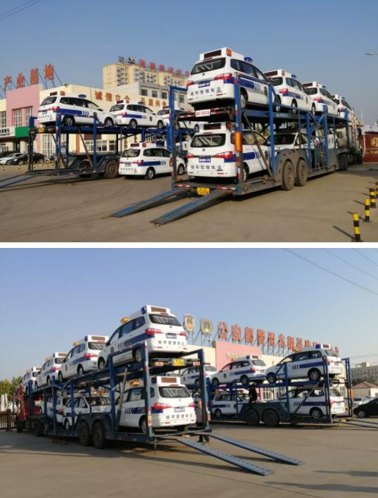 创新城市管理|金豪棋牌网站MPV城管执法巡逻车(锂电版)批量发往湖南省
